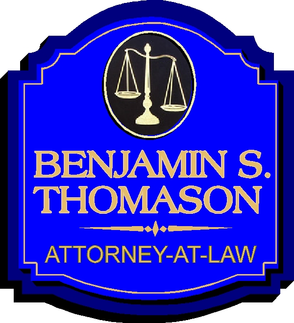 A10211 Attorney-At-Law Outside Entrance Sign