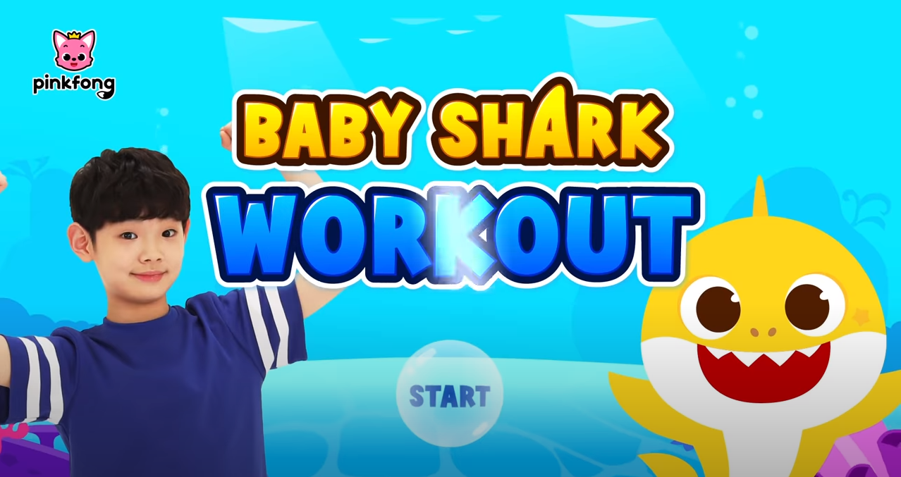 Baby Shark Workout