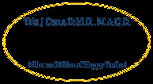 Tris J. Carta DMD Logo