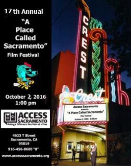 "World Premiere 17th Annual ""A Place Called Sacramento"""