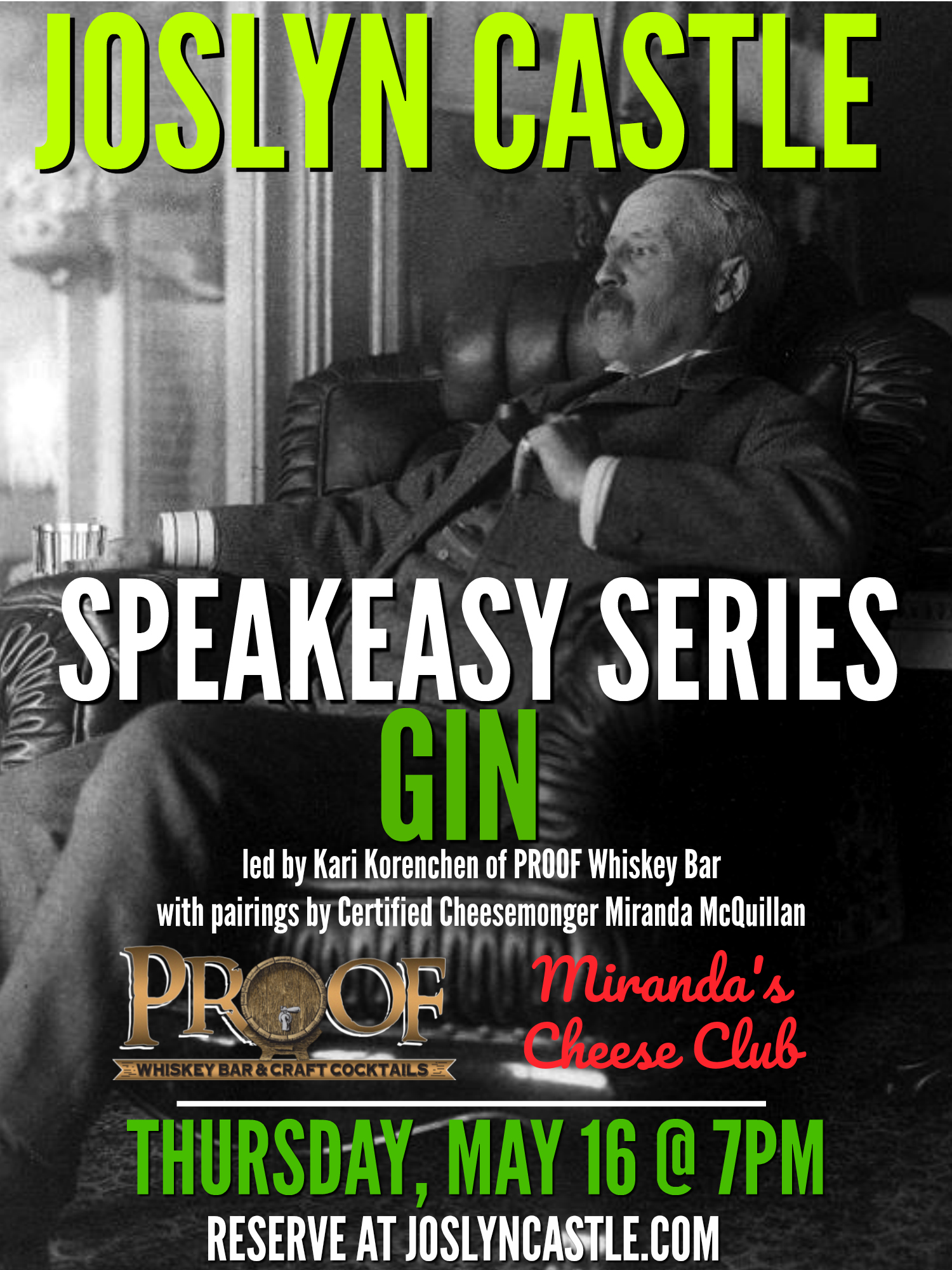 Speakeasy Series: Gin Tasting