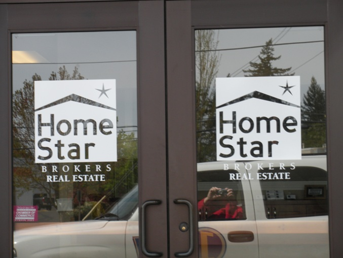 Home Star Brokers Window Graphic