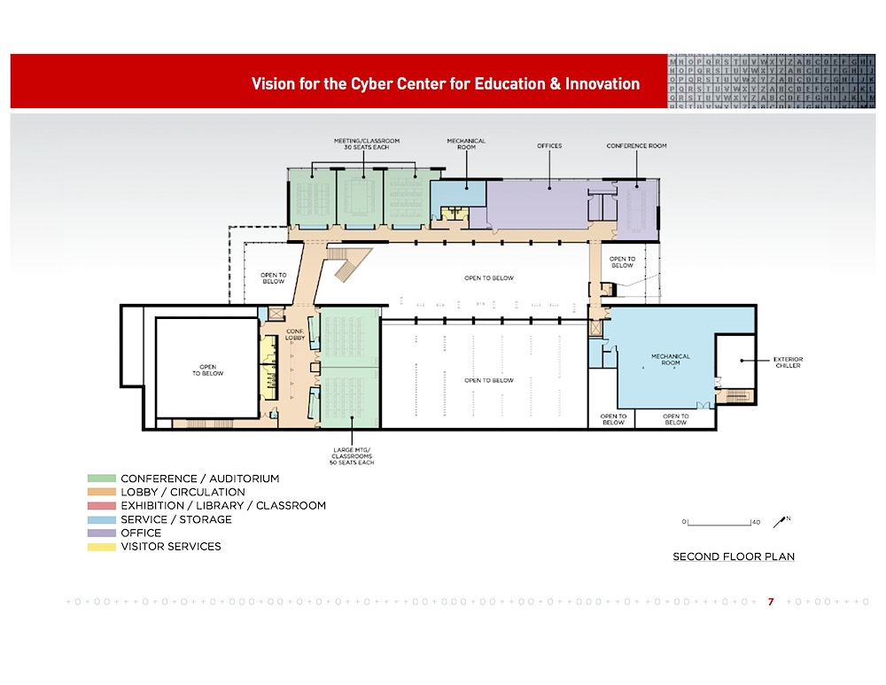 CCEI Second Floor Plan