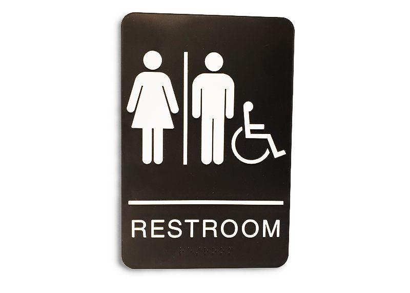 ADA Restroom Sign