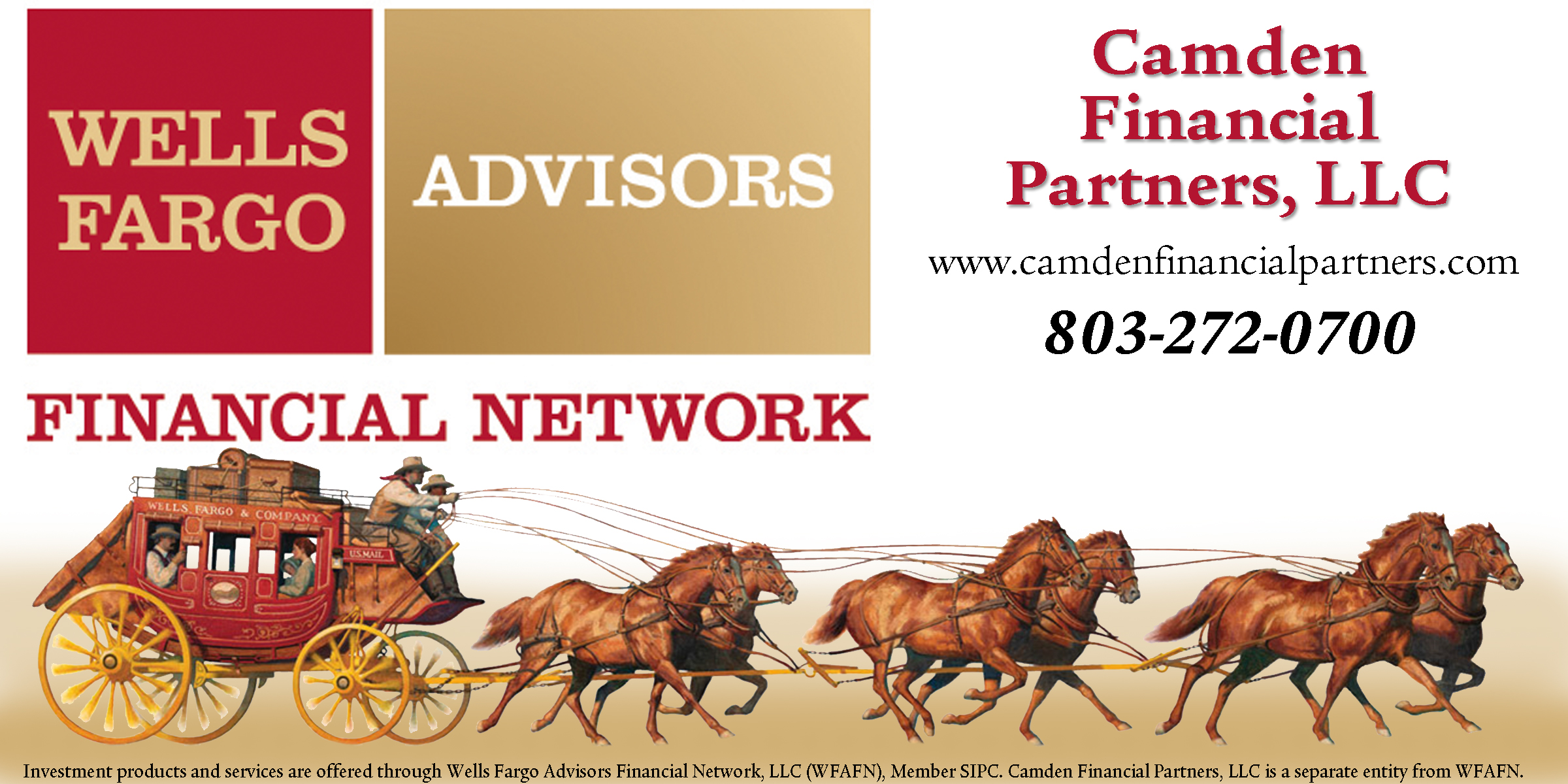 Wells Fargo Advisors -- Camden Financial Partners, LLC