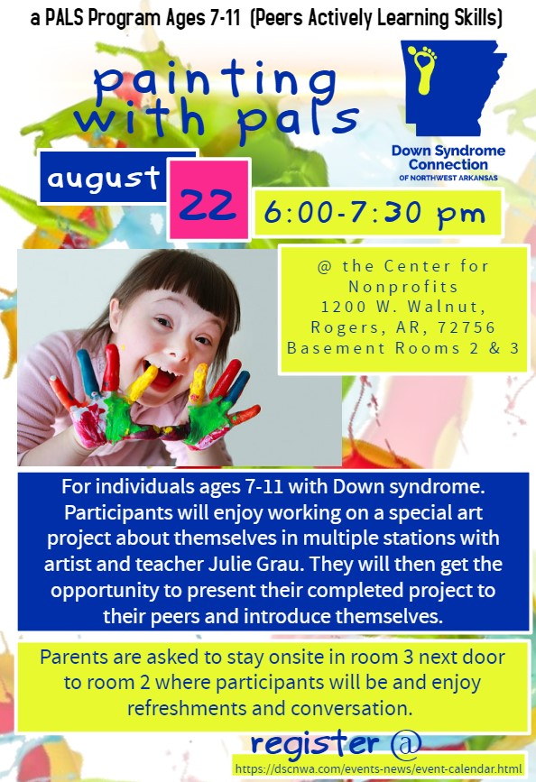 PALS Program Ages 7-11 (Peers Actively Learning Skills) *Date change*