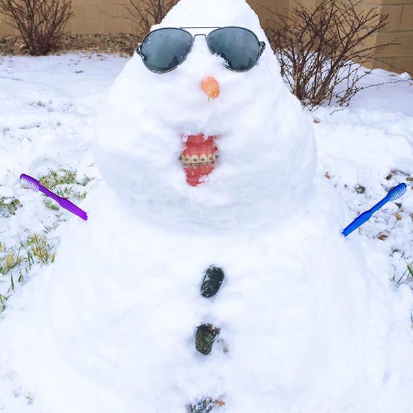 Snowman vibes