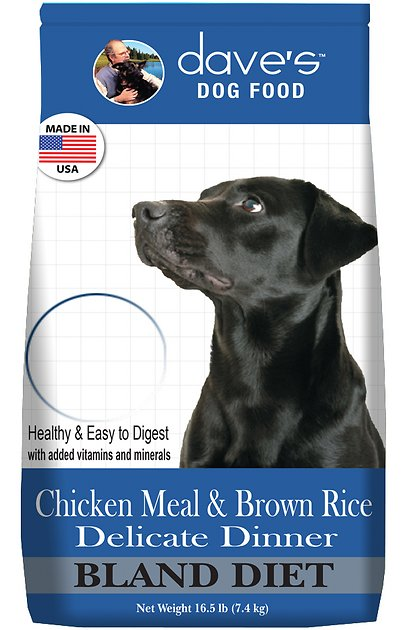 Dave's Pet Food Chicken Meal & Brown Rice Delicate Dinner Dry Dog Food