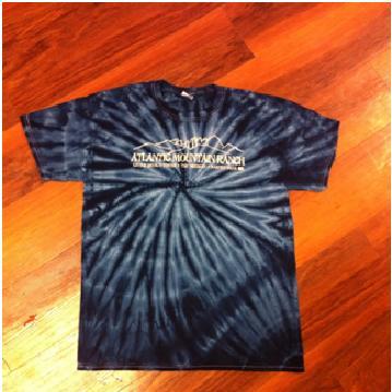 AMR Blue Tie Dye T-Shirt