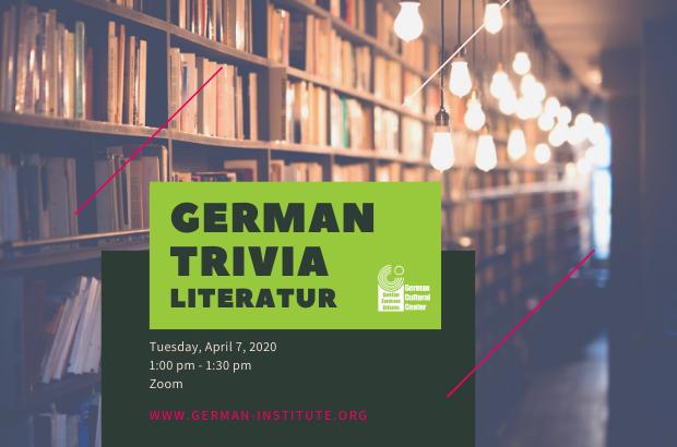German Trivia - Literatur