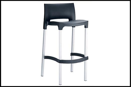 Gio Black High Chair