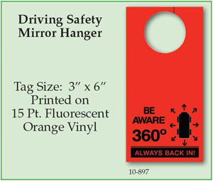 Driving Safety Mirror Hanger