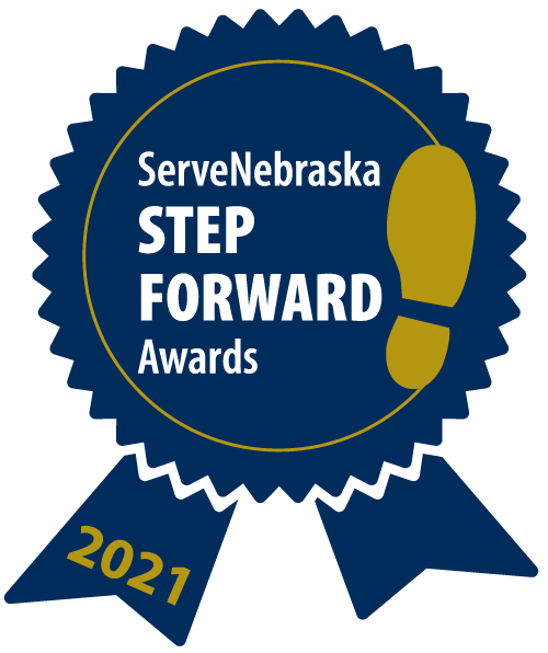 ServeNebraska Calls for Nominations for the 2021 Step Forward Awards