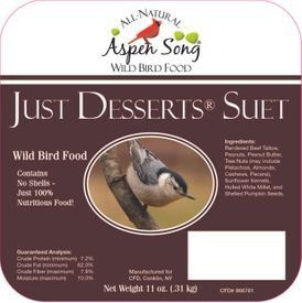 Aspen Song Just Desserts Suet