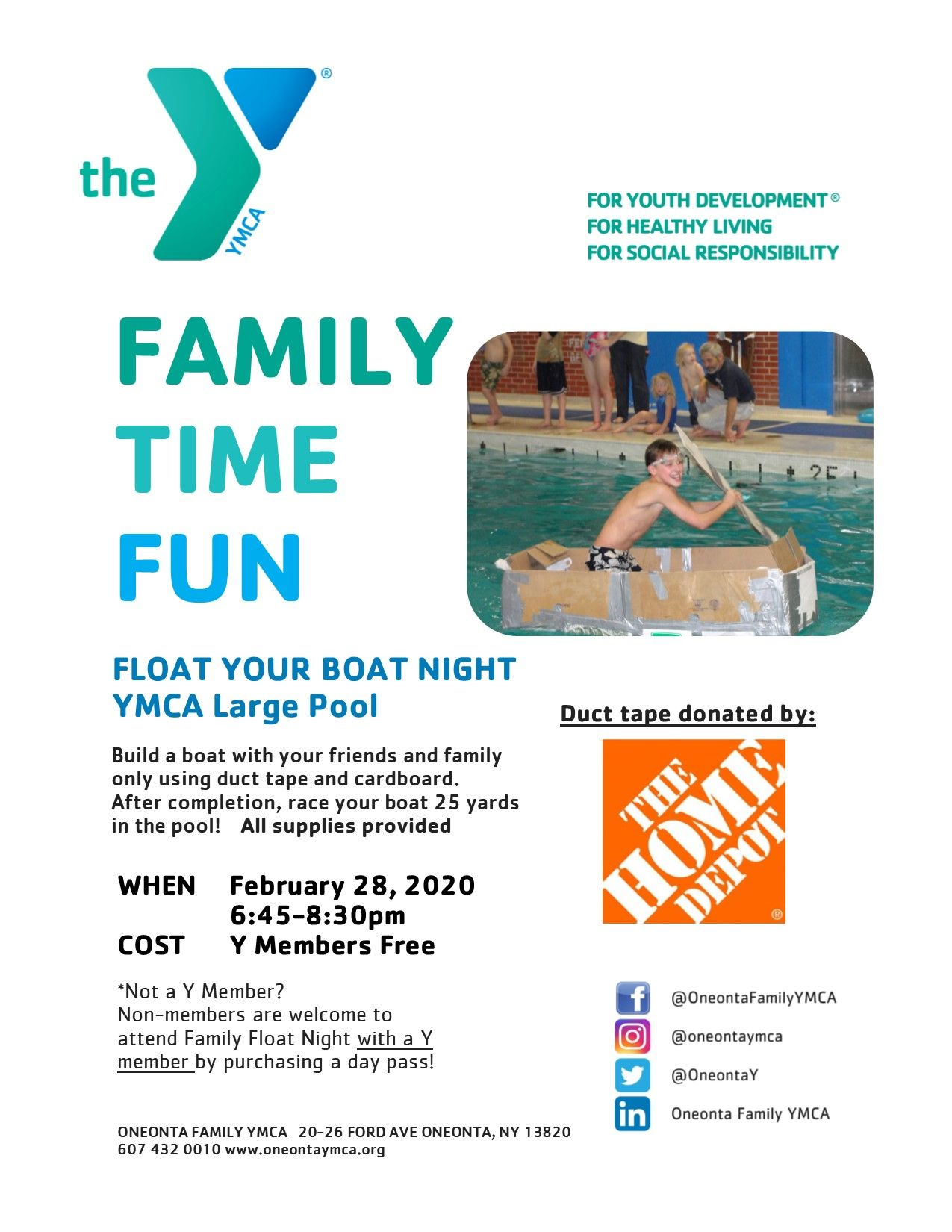 February Float Your Boat