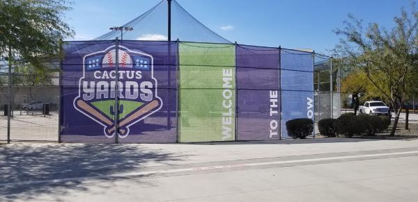Mesh banners for city parks in Gilbert AZ