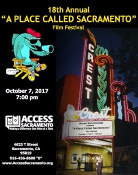 """A Place Called Sacramento""  2017 Card"