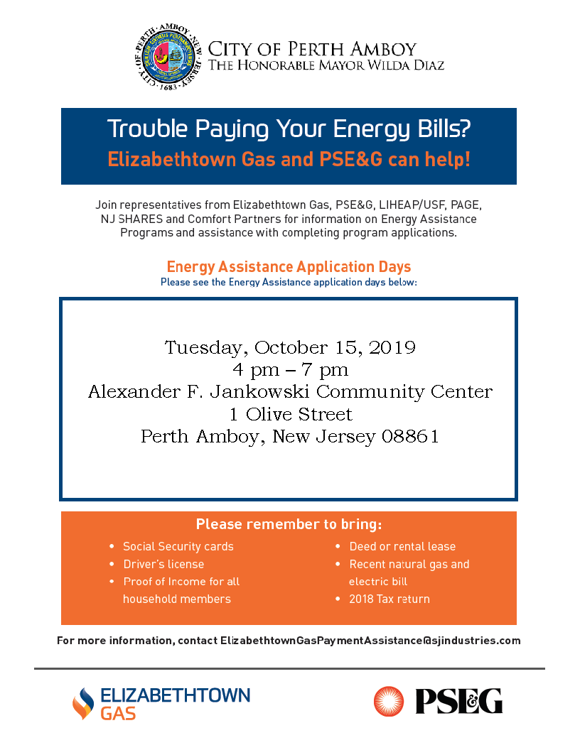 Energy Assistance Application Days