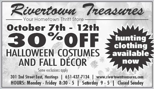 RTT Weekly Sale for October 7-12th