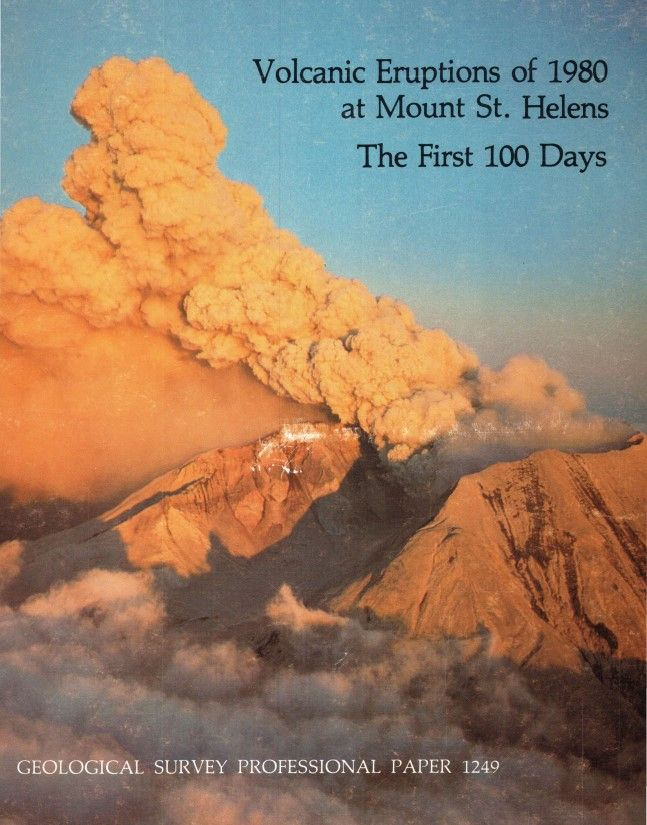 Volcanic eruptions of 1980 at Mount St. Helens : the first 100 days