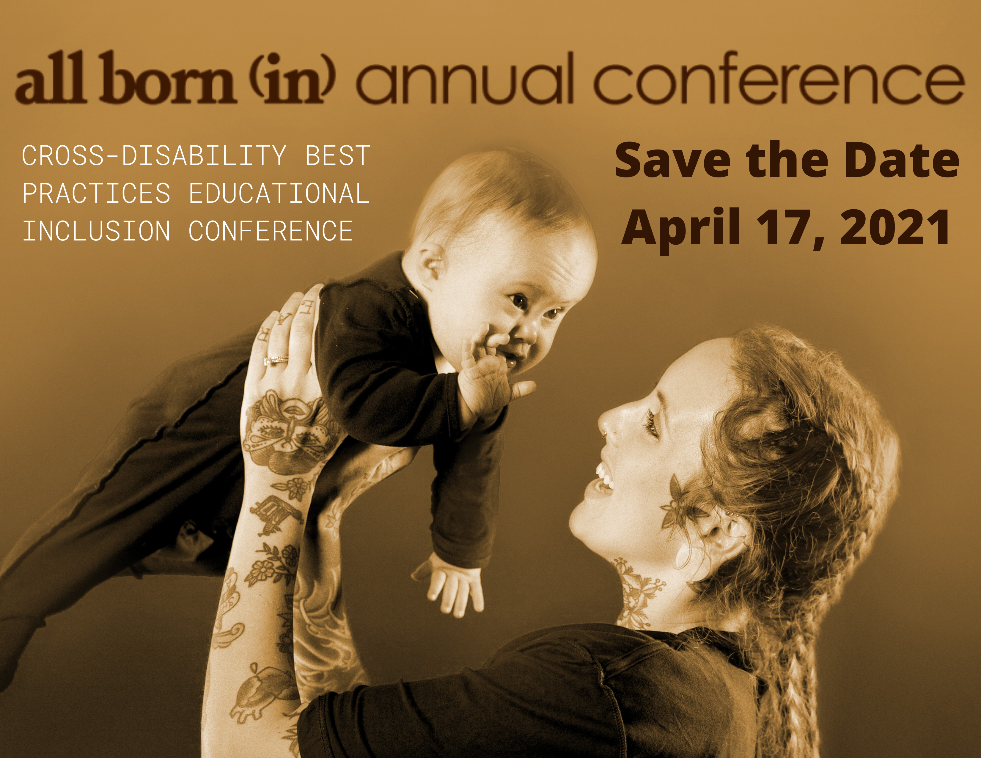 All Born (In) 15th Annual Cross-Disability Educational Inclusion Conference