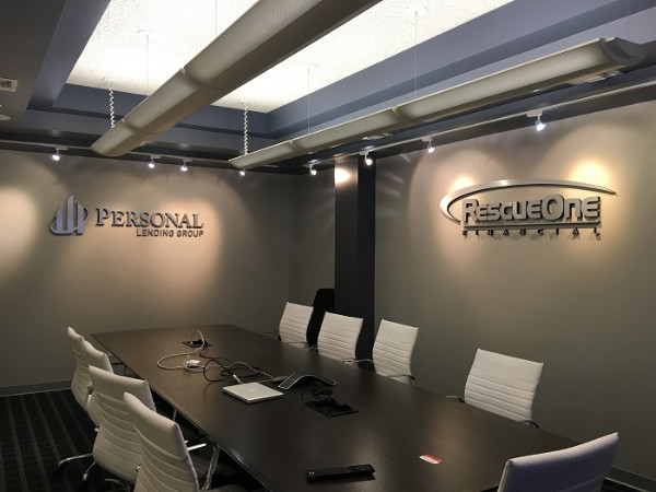 Custom conference room signs for businesses in Irvine CA