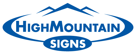 High Mountain Signs