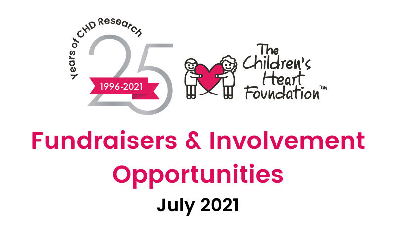 Fundraisers & Involvement Opportunities for July