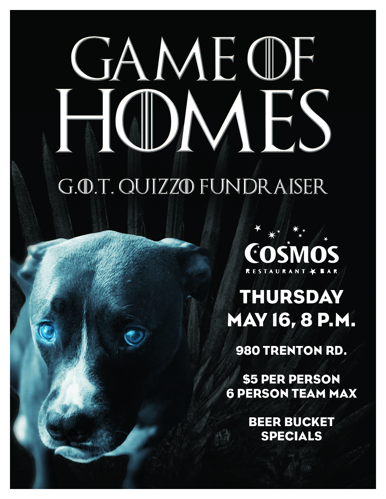 Game of Homes Trivia @ Cosmos