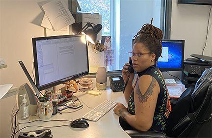 Shai Brown, Art Department Manager