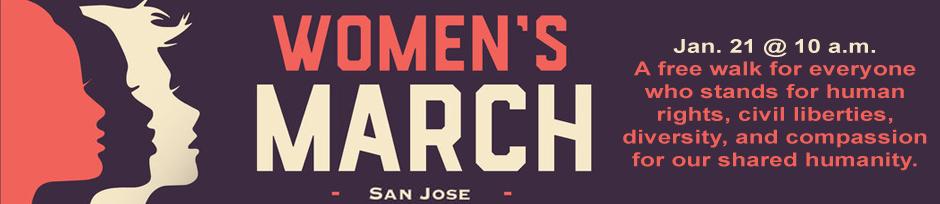 2017 women's march SJ