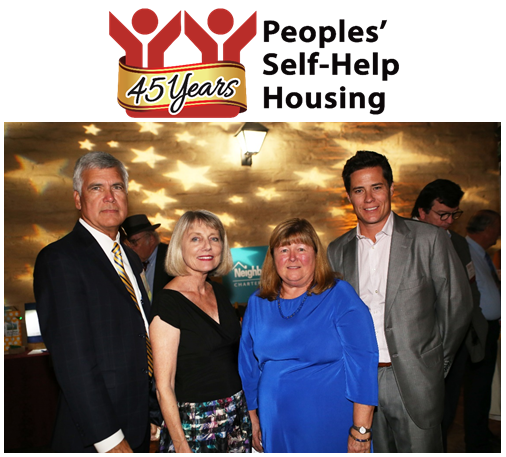 Peoples' Self-Help Housing Raises more than $100K in Sponsorships for 45th Anniversary Gala, Auction