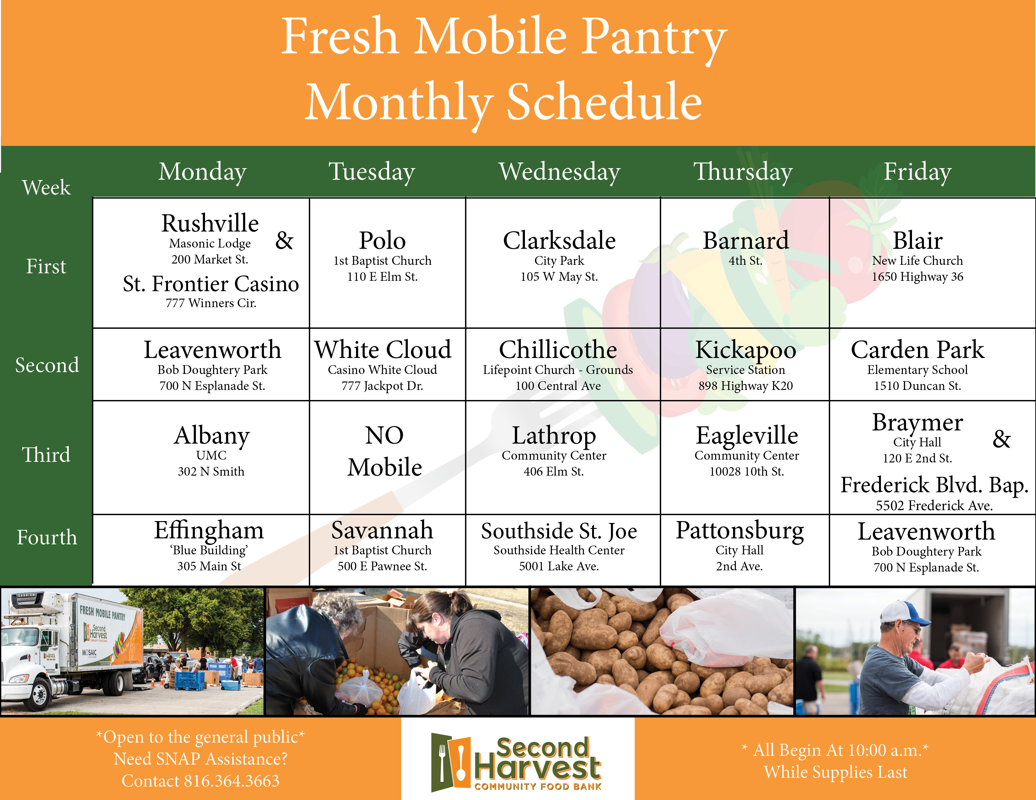 Second Harvest Community Food Bank : News & Events : Event