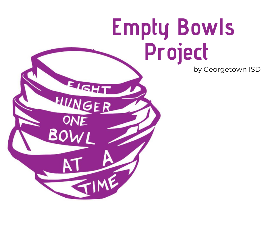 GISD Donates Bowls to The Caring Place for Empty Bowls Project
