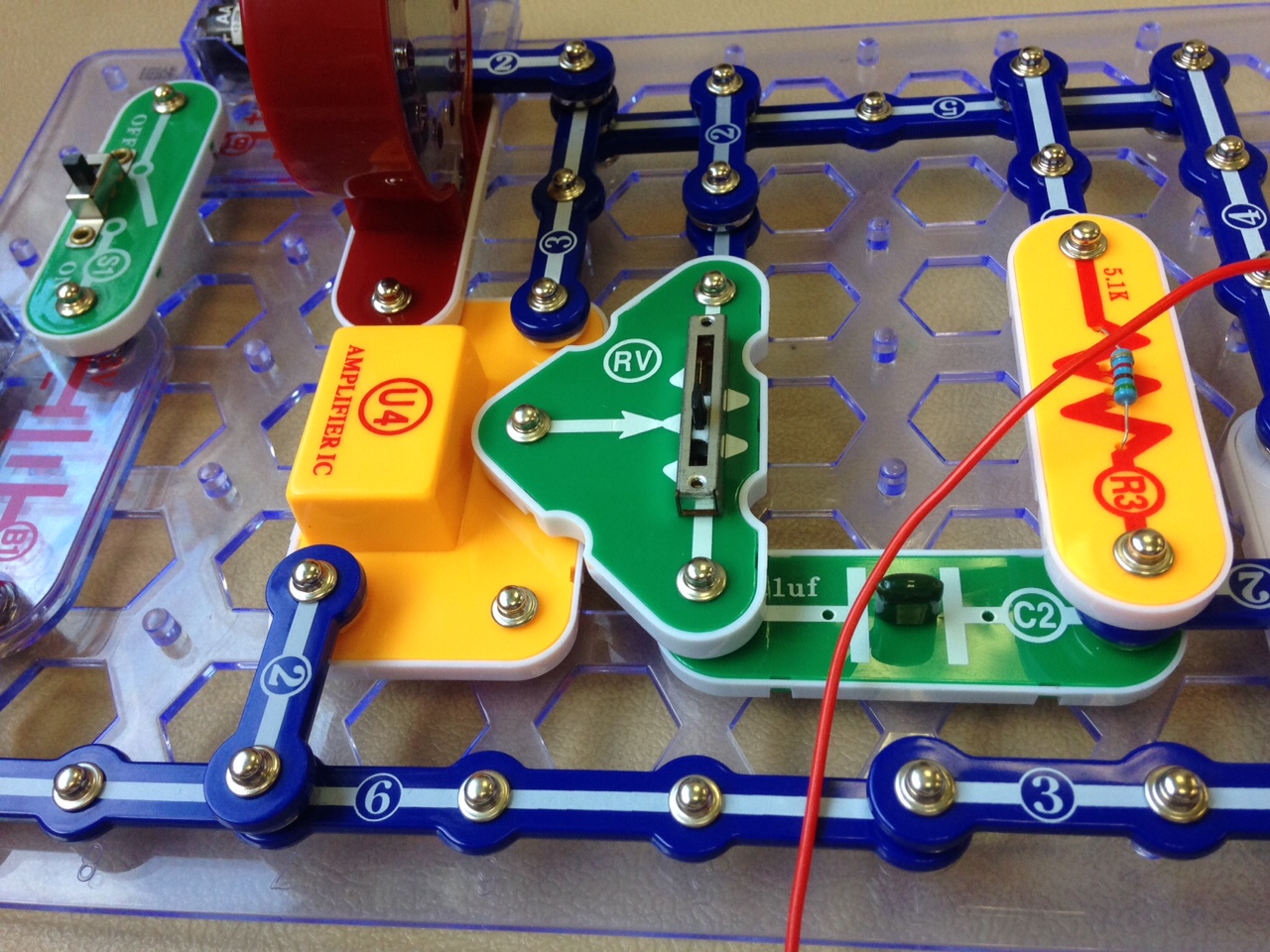 Check out this Snap Circuit radio