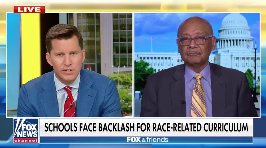 Bob Woodson: Critical race theory 'planting the seeds' for Black self-doubt