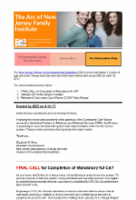 4.10.17 - Update from DDD: NJ CAT | Fee-for-Service Timeline | CCW Policy Manual