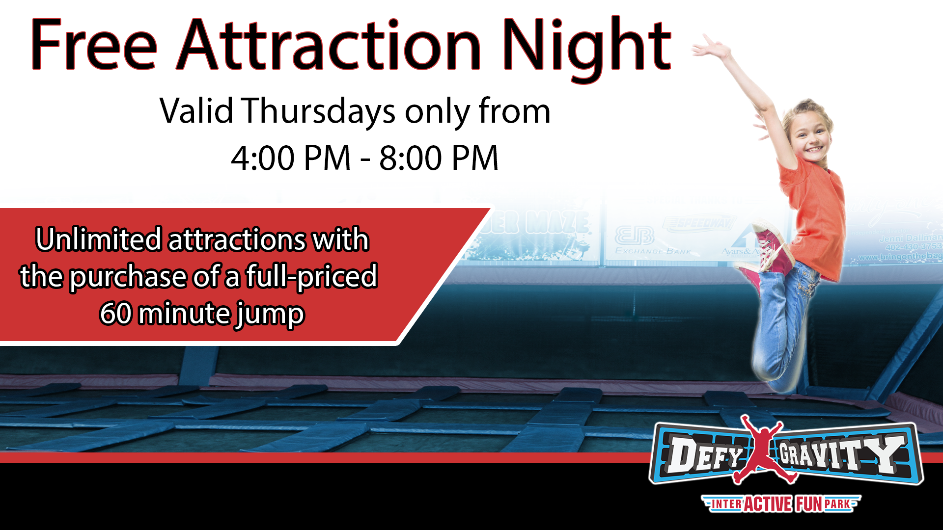Free Attraction Night