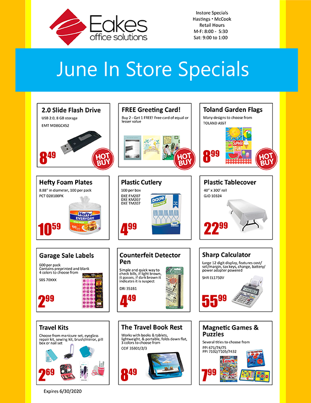 Monthly Retail Sale Flyer