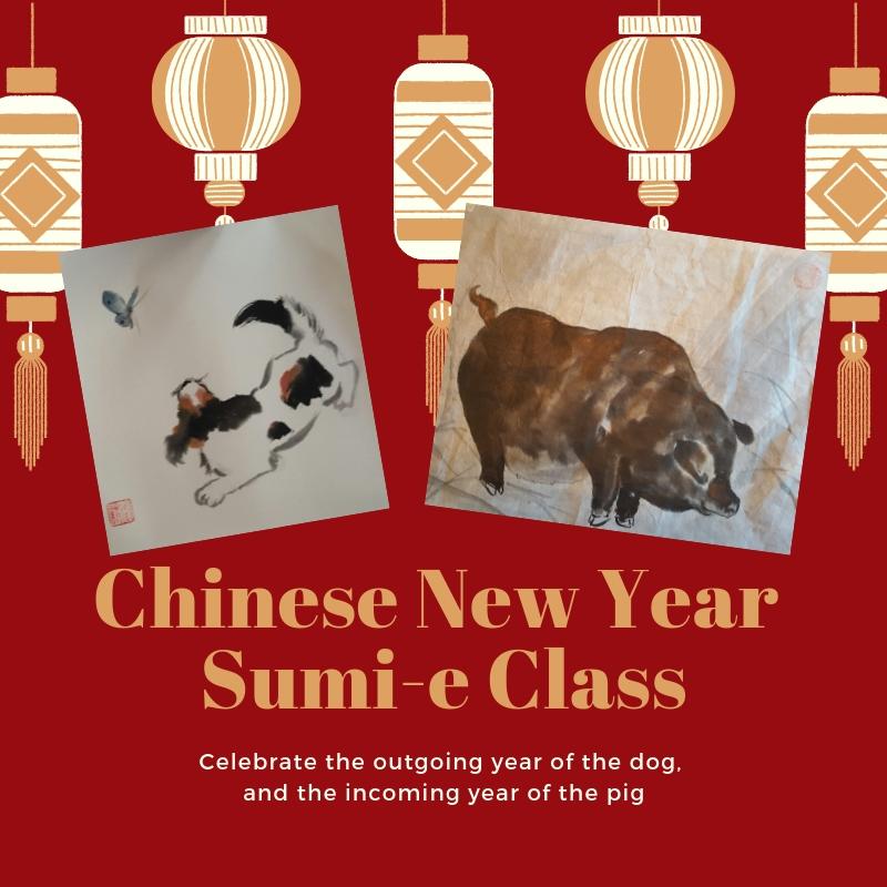 Chinese New Year Sumi-e Class