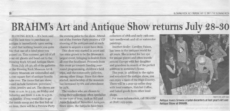 Art & Antiques Show