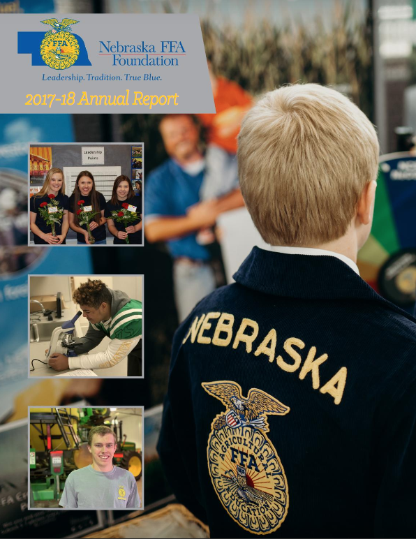 2017-18 Nebraska FFA Foundation Annual Report