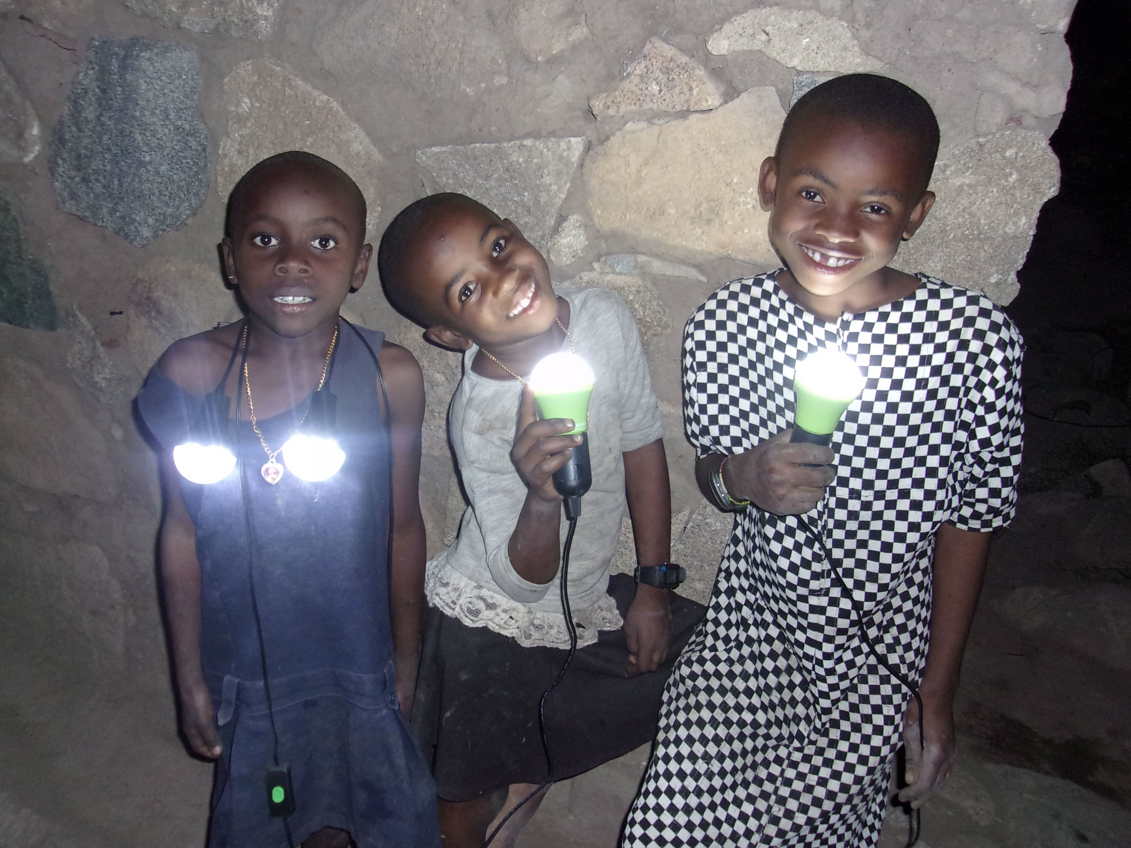 Give Solar Lights to Study
