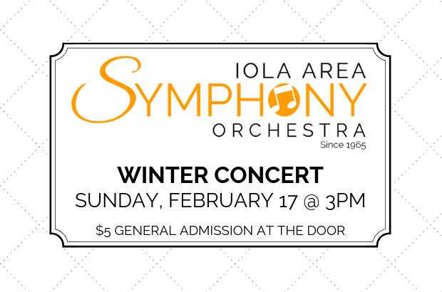 Iola Area Symphony Orchestra Concert