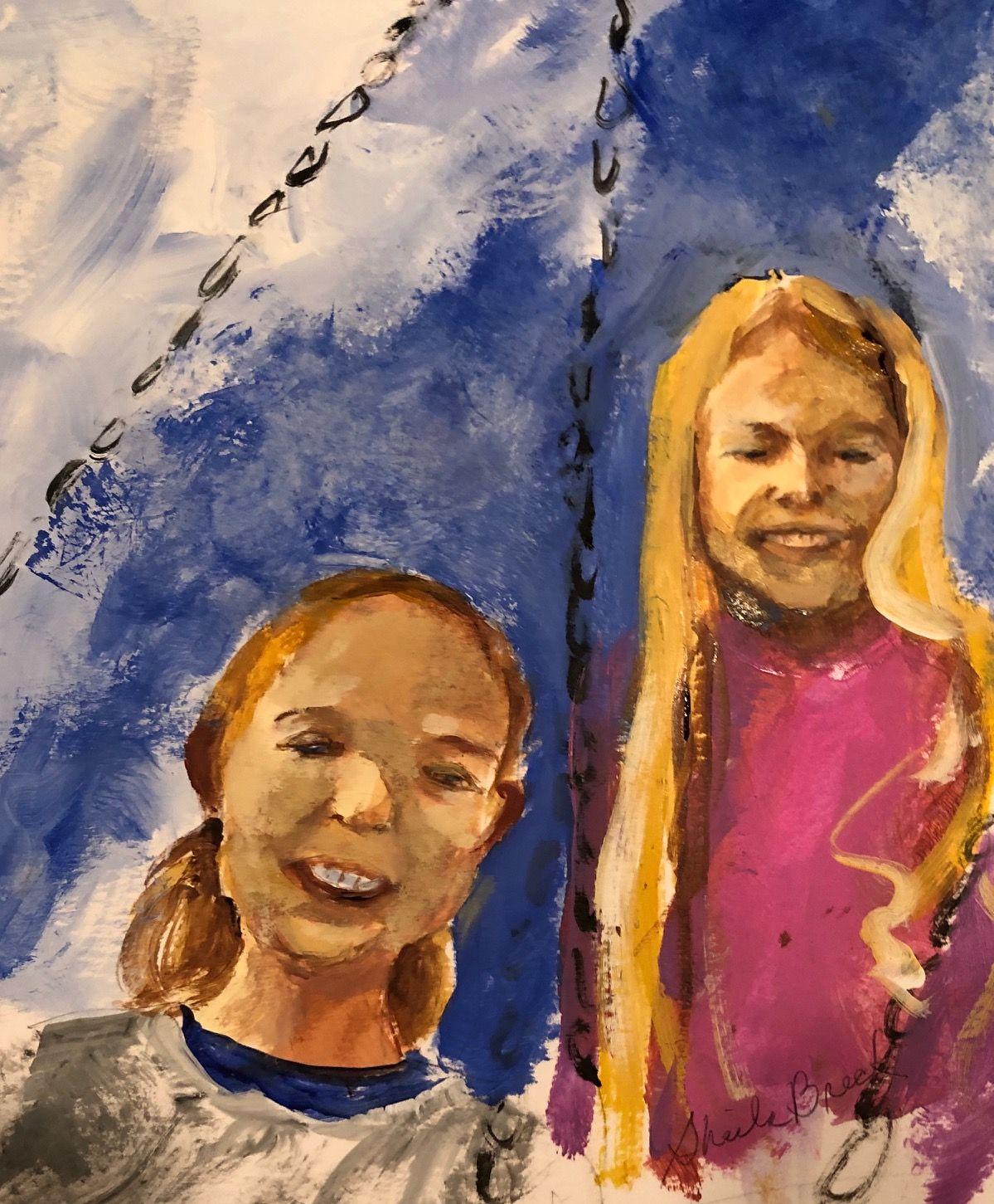 Artist: Sheila Breck, Acrylic