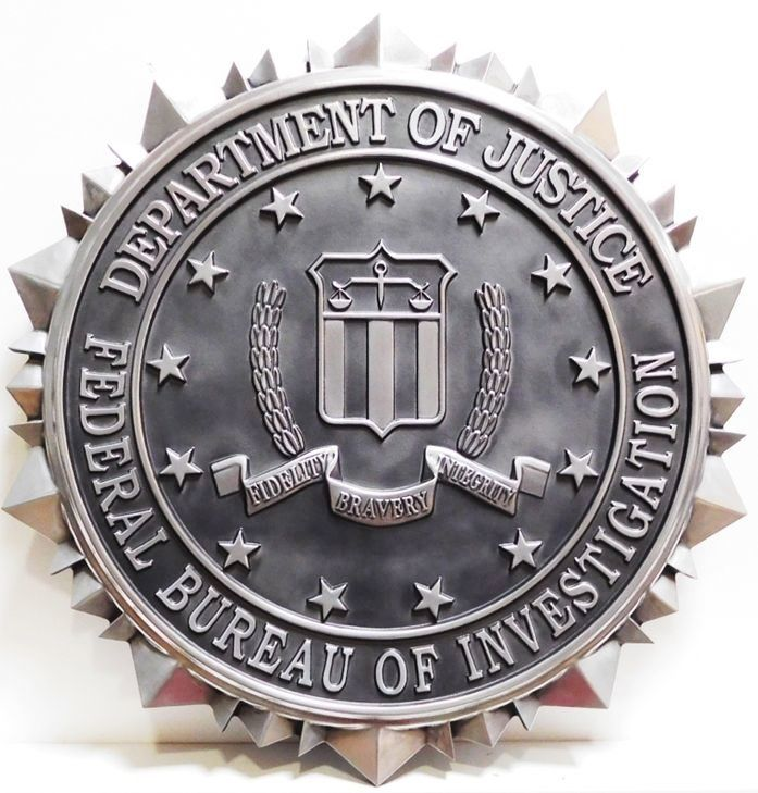 MD4036 - Seal of the Federal Bureau of Investigation (FBI), 3-D