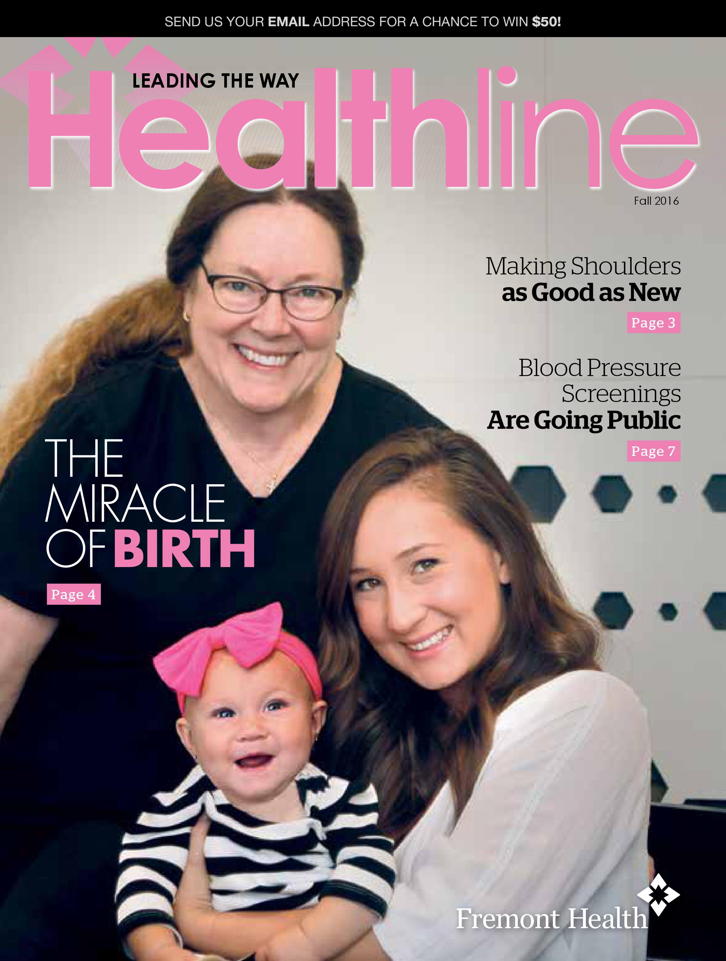 Healthline Fall 2016