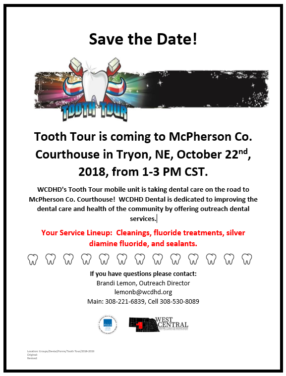 Tooth Tour and Immunization Clinic - Tryon