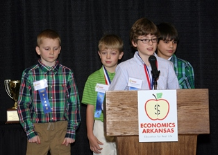 Fall 2013 Stock Market Game Winners Honored at Awards Luncheon