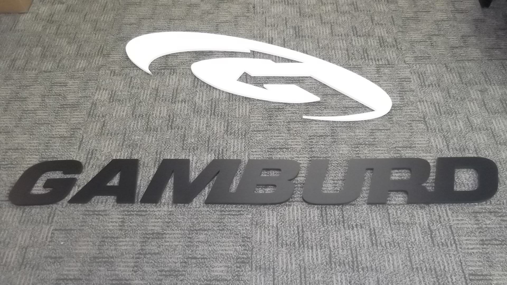 Gamburd PVC Sign